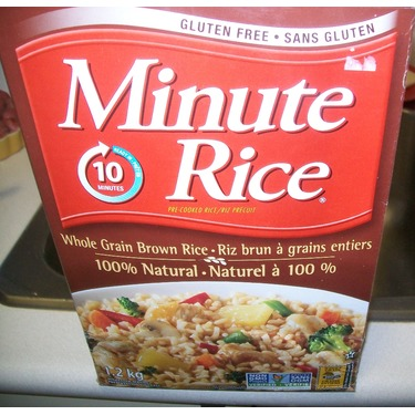 Minute Rice Whole Grain Brown Rice