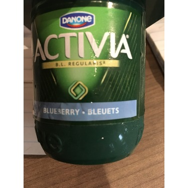 Activia Blueberry Yogurt