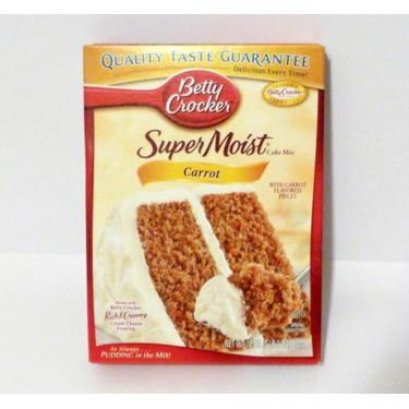 Betty Crocker Super Moist Cake Mix - Carrot