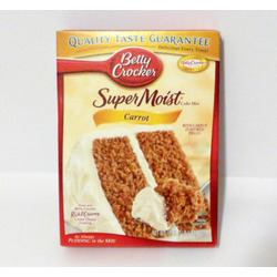 Betty Crocker Super Moist Cake Mix - Carrot