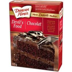 Duncan Hines Moist Deluxe Devil's Food Mix