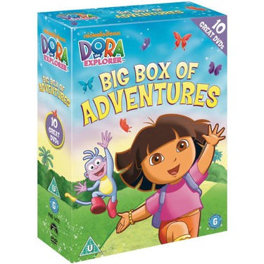 Dora the Explorer DVD Collection