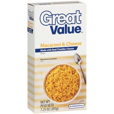Great Value Mac And Cheese