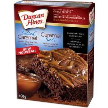 Duncan Hines Salted Caramel Brownie Mix