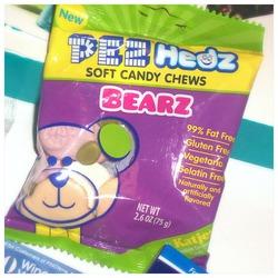 PEZ HEDZ gummy candy