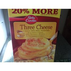 Betty Crocker 3 Cheese Potatoes