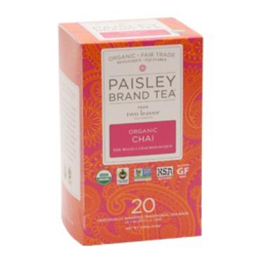 Paisley Label Tea - Organic Chai