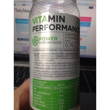 Vitamin Performance grapefruit and lemon grass