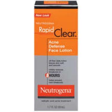 Neutrogena Rapid Clear Acne Defense Lotion