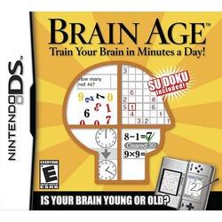 Brain Age Math DS Game
