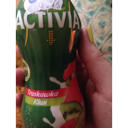Activia Drinkable Strawberry Kiwi