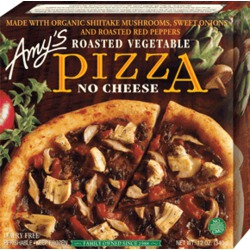 Amy's Roasted Vegetable Pizza - No Cheese