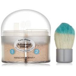 Physicans Formula Mineral Wear Illuminating Powder Duo in Creamy Light/Creamy Natural