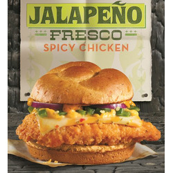 Wendy's Jalapeno Fresco Spicy Chicken Sandwich