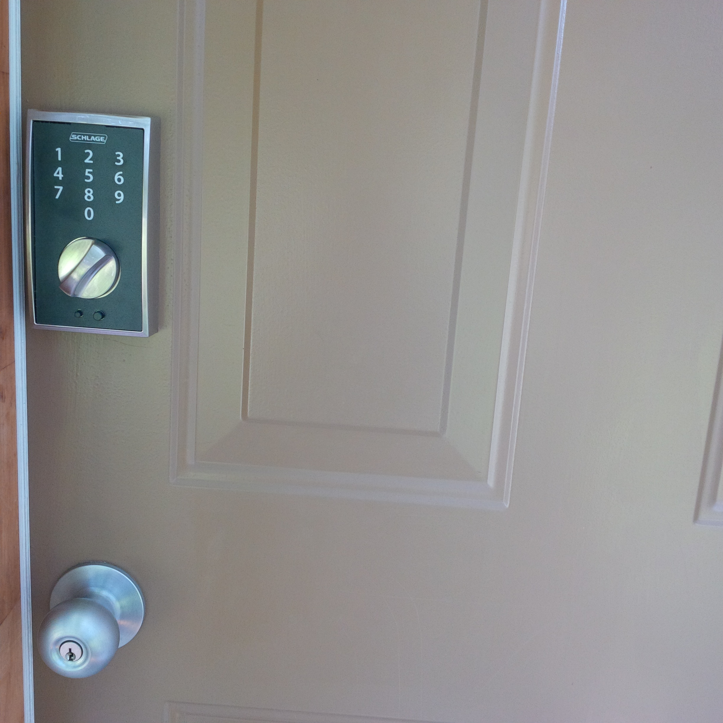 Schlage Touch Keyless Entry Lock Reviews In Home Or Indoor