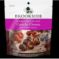 Brookside Crunchy Clusters Dark Chocolate & Berry Medley