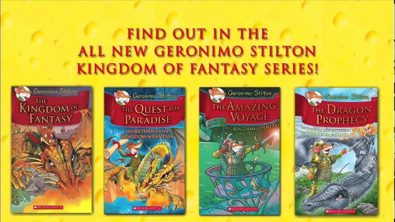 3 Geronimo Stilton Books - No. 24, 26 and 28