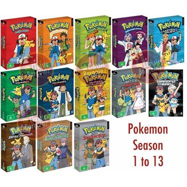 Pokemon TV Show DVD Collection
