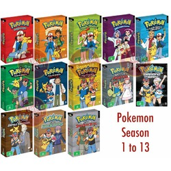 Pokemon TV Show DVD Collection