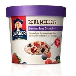 Quaker Real Medleys in Summer Berry