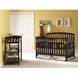 Freeport Convertible Crib in Espresso