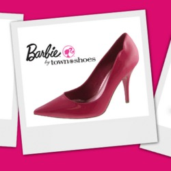 Barbie by Town Shoes Pink Pumps