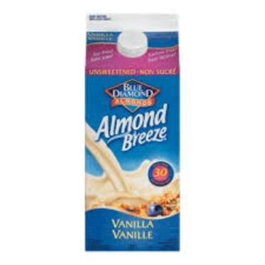 Blue Diamond Almond Breeze Vanilla Almondmilk
