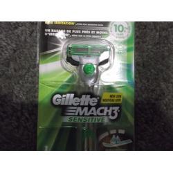 Gillette Mach Sensitive Razor
