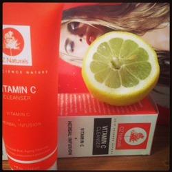 Oz naturals vitamin c cleanser