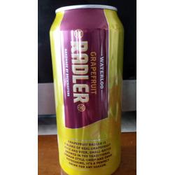 Waterloo Grapefruit Radler Beer