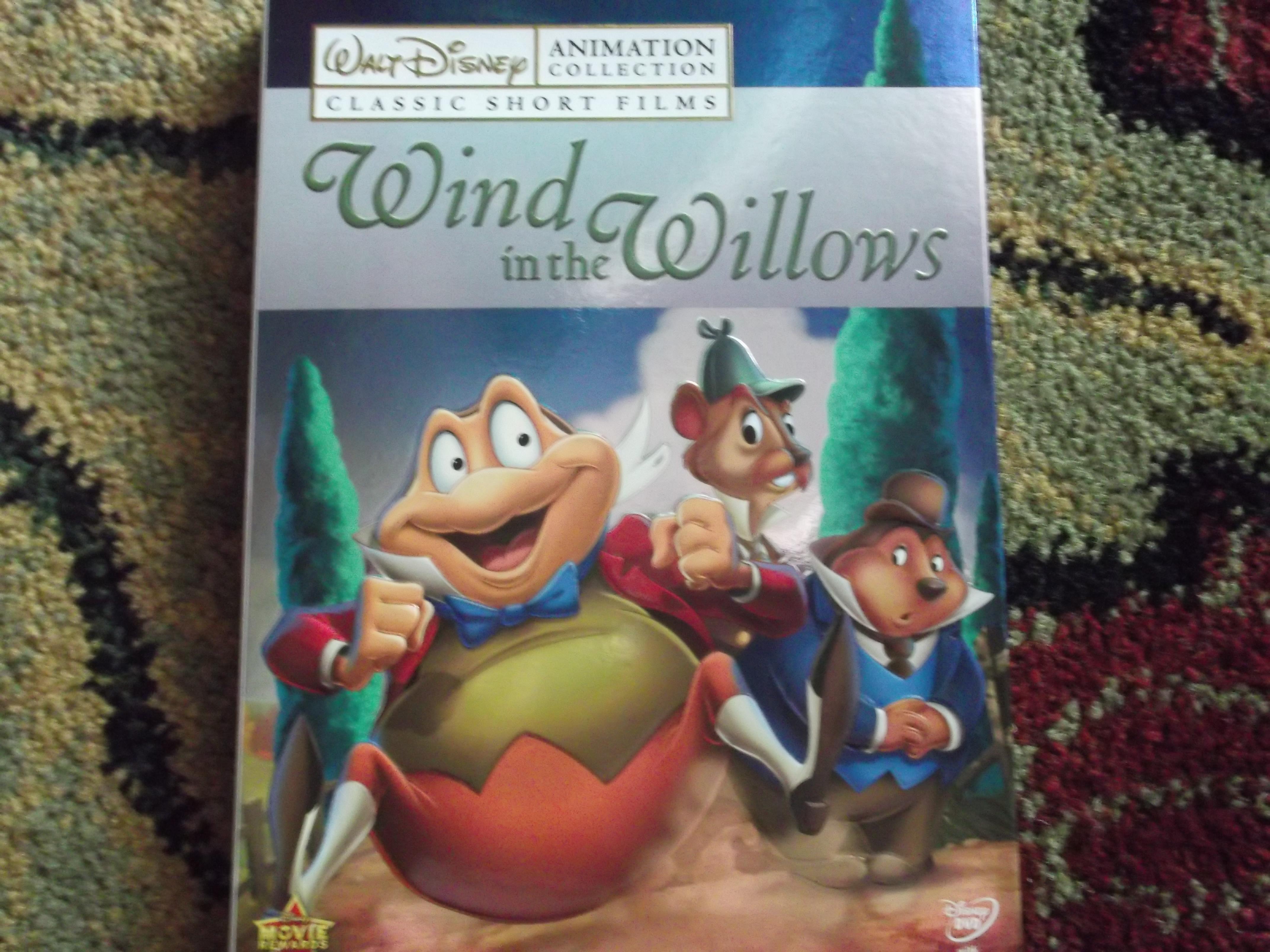 The Wind In The Willows Disney Walt Disney-Wind in th...