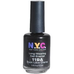 NYC Black Nail Polish