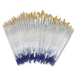 Royal Langnickel Soft Grip Golden Taklon Brushes