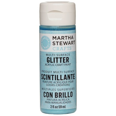 Martha Stewart Crafts Multi-Surface Glitter Acrylic Craft Paint