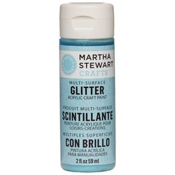 Martha Stewart Crafts Multi-Surface Glitter Acrylic Craft Paint