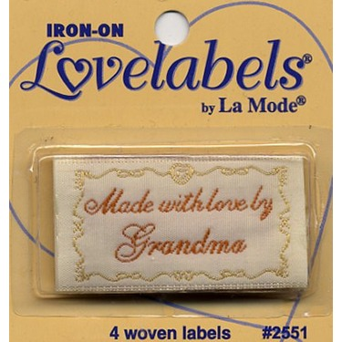 Iron-On Lovelables by La Mode