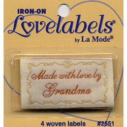 Iron-On Lovelables by La Mode