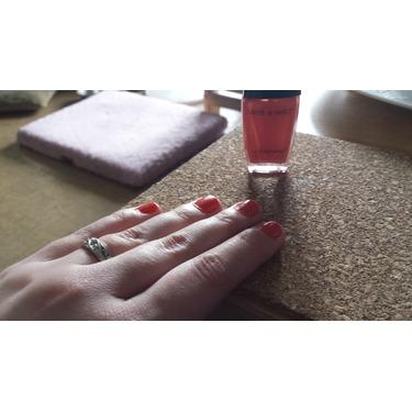 Wet n' Wild Wildshine nail color in Blazed