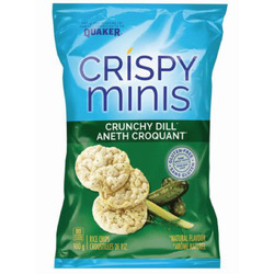 Quaker® Crispy Minis® Crunchy Dill Flavour Rice Chips