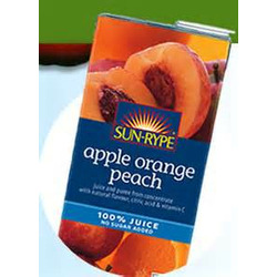 Sun Rype Apple Orange Peach Juice