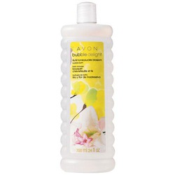 Avon Lily and Honeysuckle Blossom Bubble Delight Bubble Bath