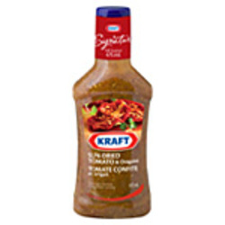 Kraft Salad Dressing - Sundried Tomato and Oregano