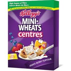 Kellogg's Mini-Wheats centres mixed berry
