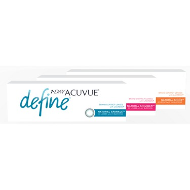 Acuvue 1-Day Define Contact Lenses