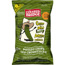 Covered Bridge Kettle Chips - Creamy Dill Pickle