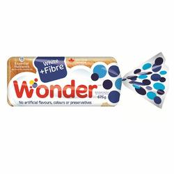 Wonder bread white + fiber