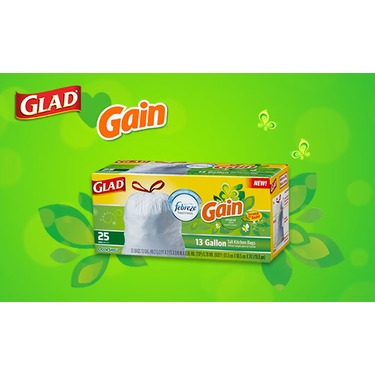 Glad OdorShield with Gain