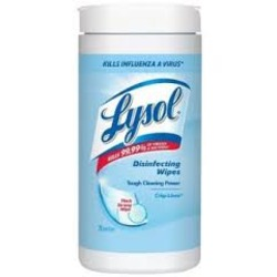 Lysol Wipes in Clean Linen Scent