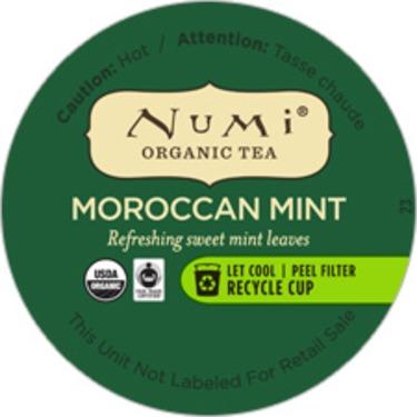 Numi Organic Tea Moroccan Mint K-Cup Pods