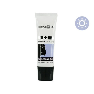 Mirenesse Fast Fix Solutions Pebble Sonic Day Purifying Facial Deep Cleanser